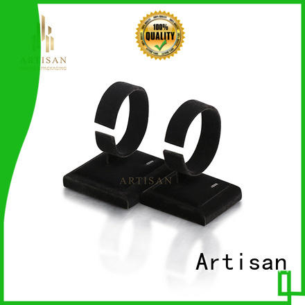 pu leather jewellery bust stand with white pu leather for sale Artisan