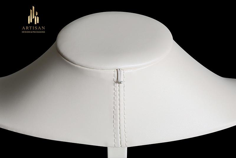 Wholesale microfiber necklace display holder mannequin Artisan Brand