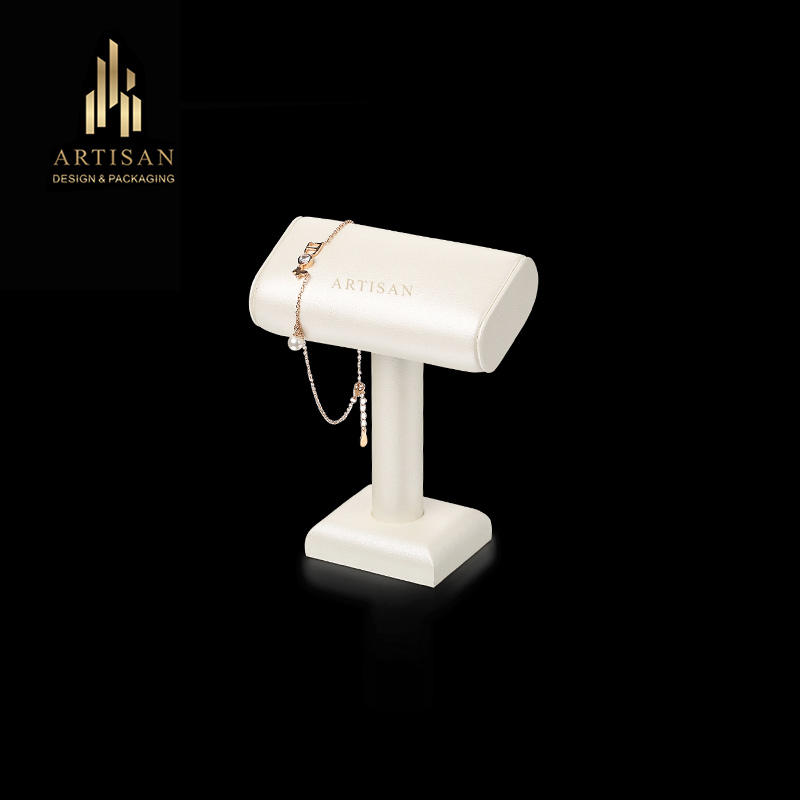 Custom design watch display MDF T bar watch/bracelet display stand