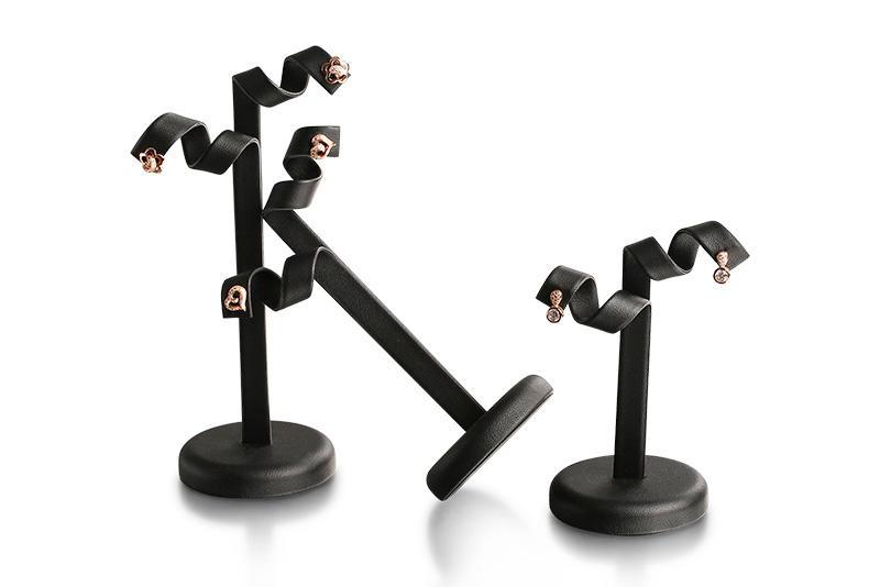 pu stands Artisan Brand velvet jewelry display stands
