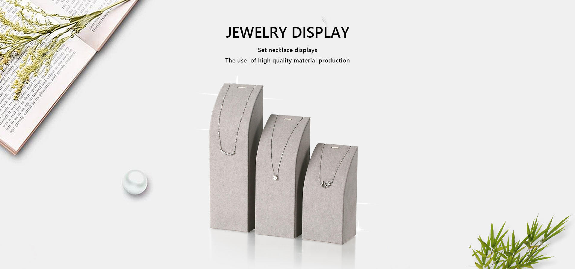 Wholesale clear jewelry display stand Artisan Brand