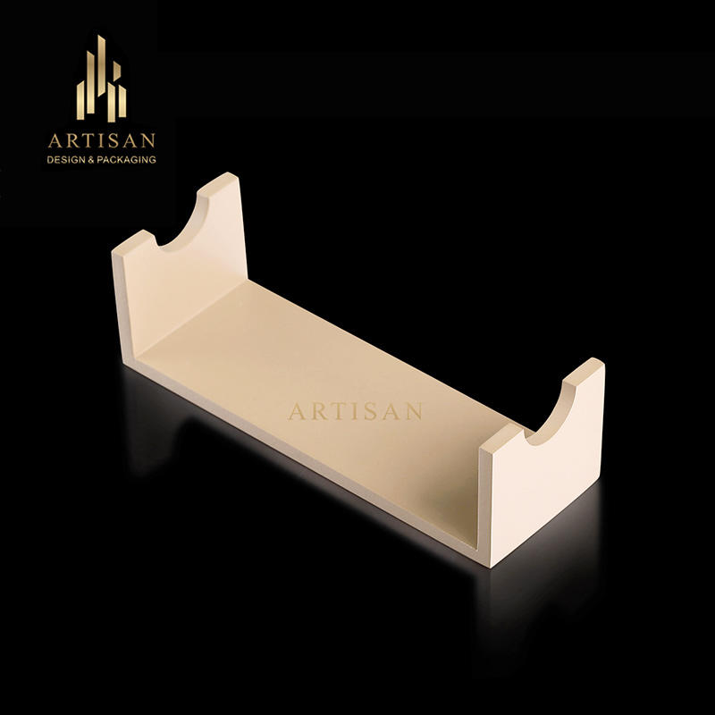 Highly quality new design wood ring display stand holder