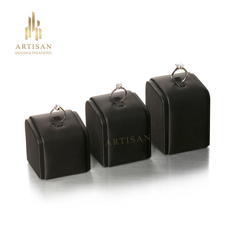 Artisan Brand commercial stockable solid velvet jewelry display stands