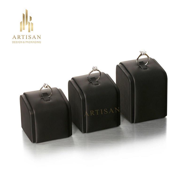 High quality custom ring display stand luxury jewelry display stand
