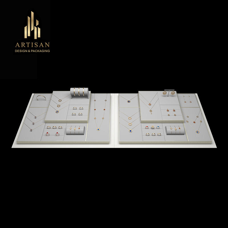 Fashion and Luxury Jewelry Display set Jewelry Counter Display