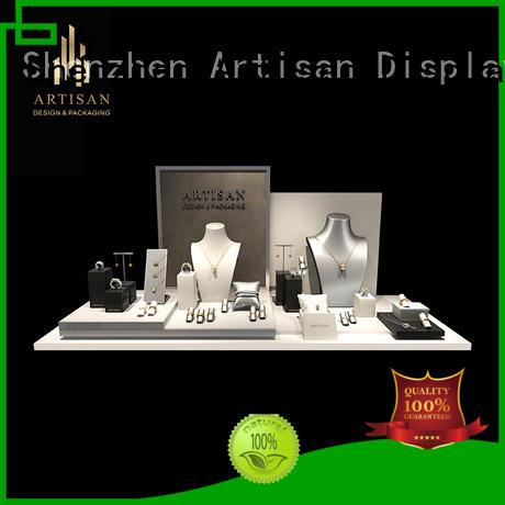 jewelry luxury price suede jewelry display set for window display Artisan Brand