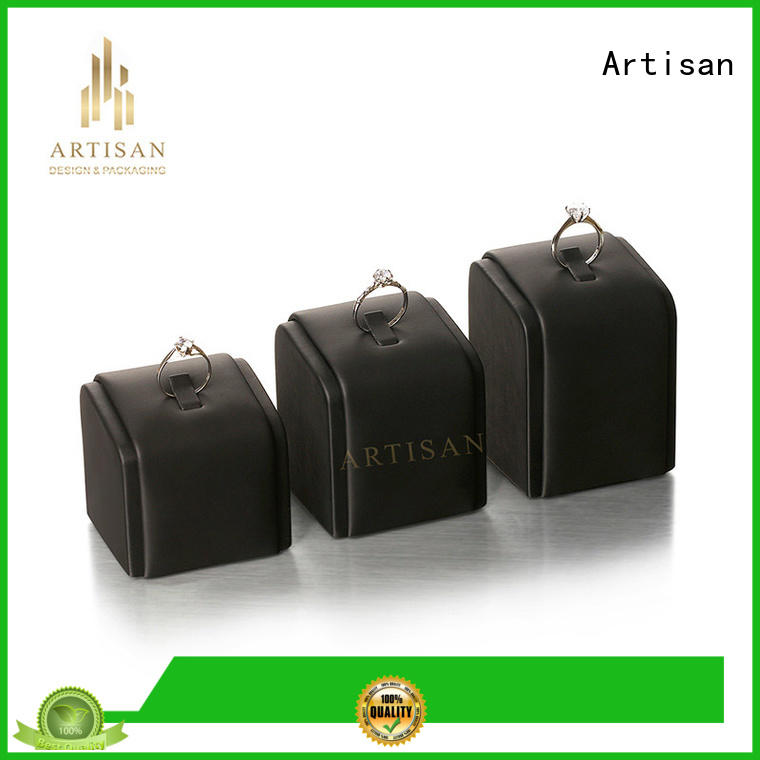 end holder attractive Artisan Brand velvet jewelry display stands factory