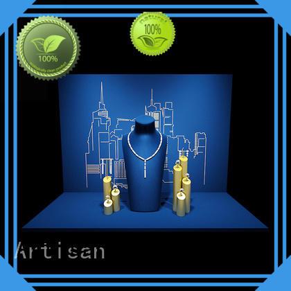 jewelry display set for window display jewelry Artisan Brand Jewelry Display Set