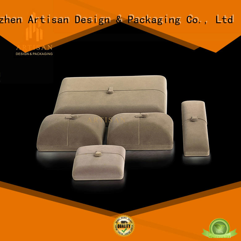 Artisan luxury box displays for jewellery manufacturer for present