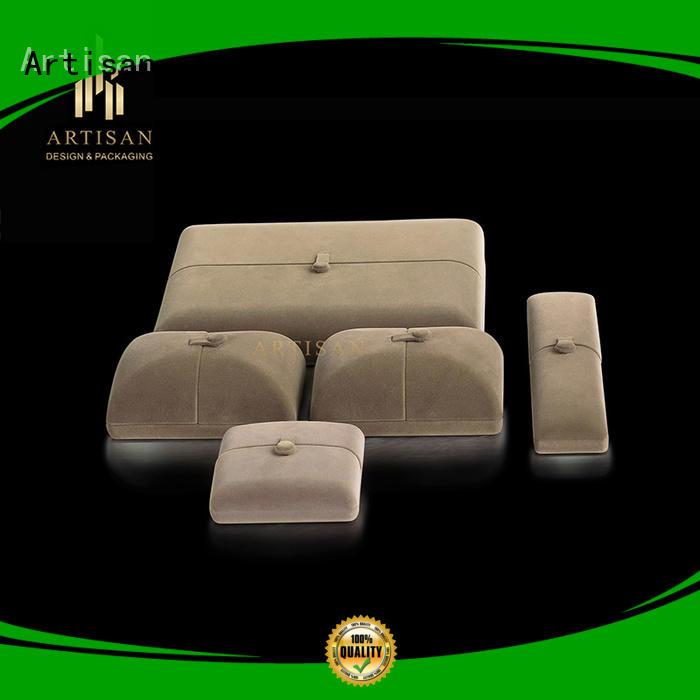 Artisan packaging custom jewelry box manufacturer luxury for