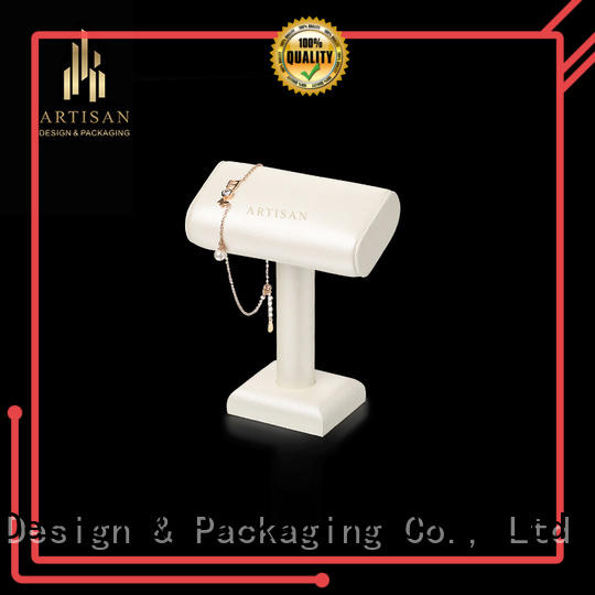 shaped microfiber highly Artisan Brand jewelry display stand