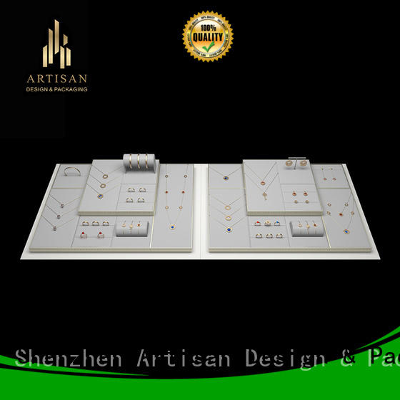 Artisan high quality jewelry displays with stand for exhibition