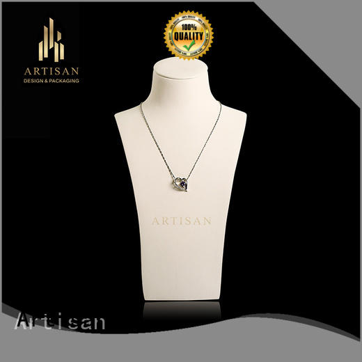 Artisan Brand stand microfiber Necklace Display Bust stand manufacture